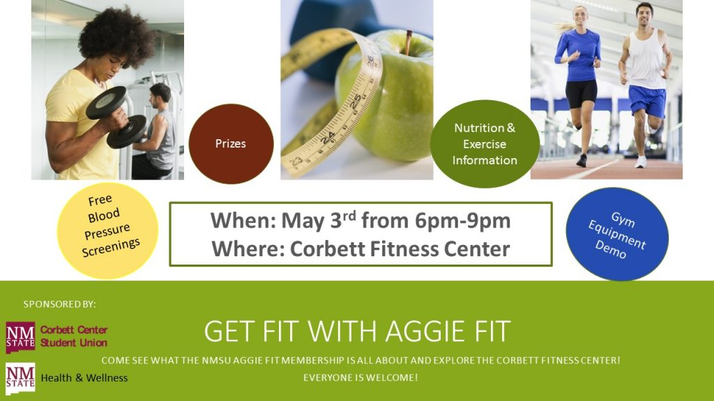Get fit with Aggie Fit
